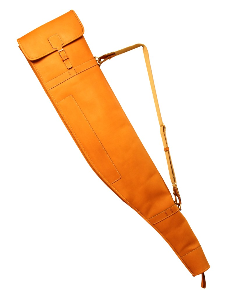 """Aneas: For hunting """"HIGHT SEAT"""" RIFLE SLEEVE - LEATHER"""