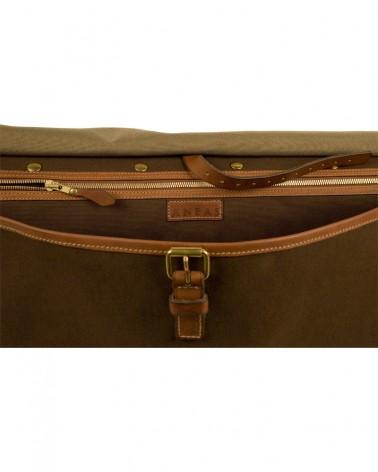Aneas : Les sacs et bagages LE GRAND SAC DE BATTUE - TOILE & CUIR