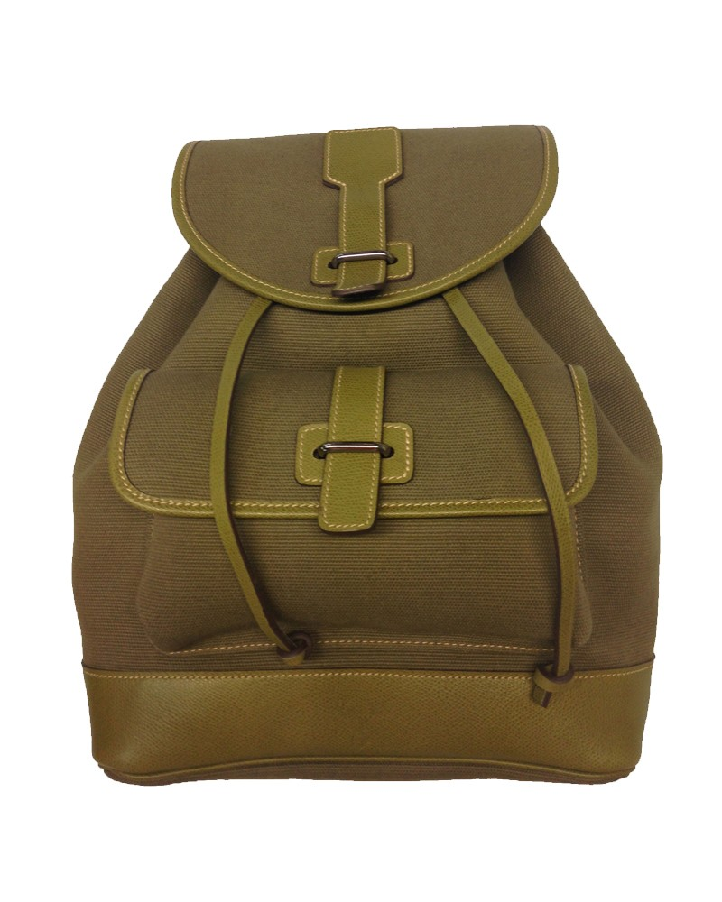 Aneas: Bags and Baggage BABY BACK PACK - CANVAS & LEATHER