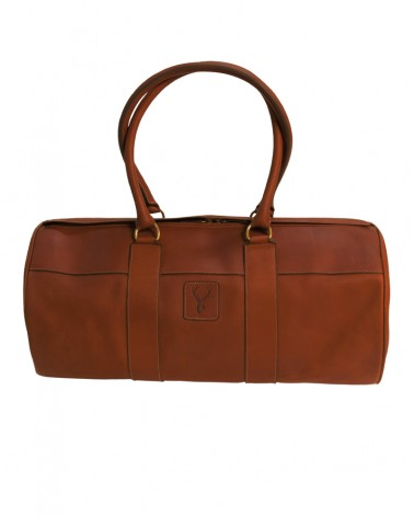 Aneas: For travelling 48H DUFFLE BAG - LEATHER