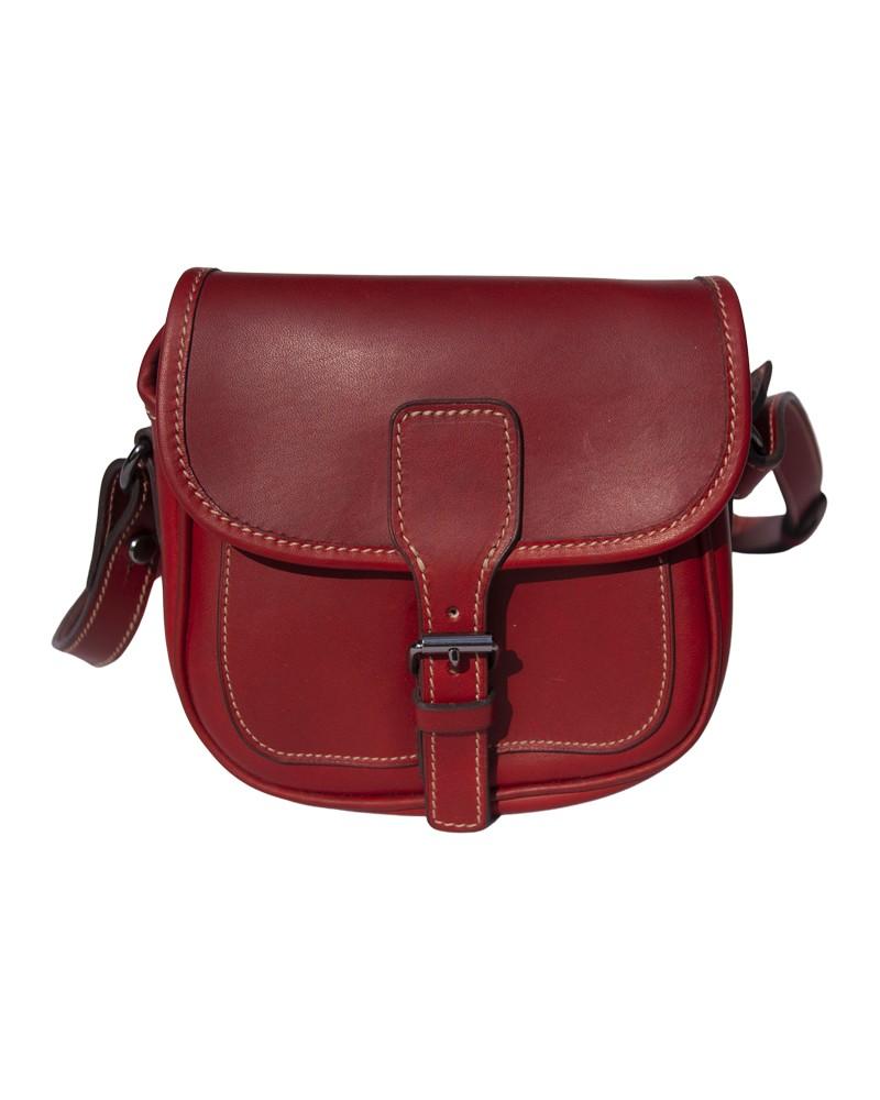 Aneas: Cartridge bags & Holders MINI CARTRIDGE BAG - LEATHER