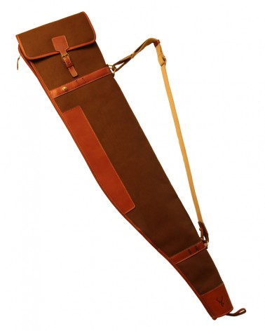 Aneas: For hunting RIFLE SLEEVE - CANVAS & LEATHER